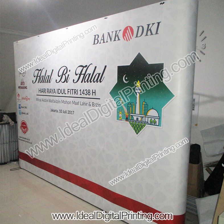 Backdrop portable bank DKI