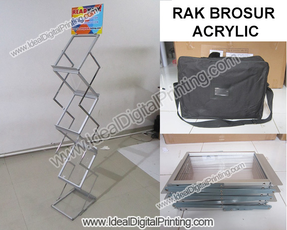 Rak Brosur With Logo