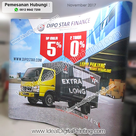 Spiderwall Booth Portable Dipo Star Finance