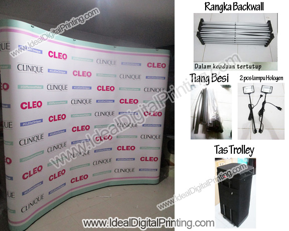 Backdrop portable Cleo