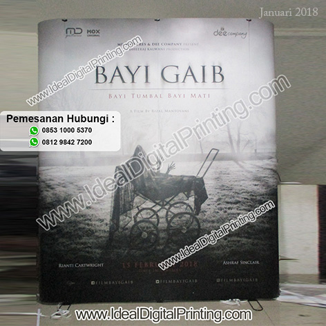 Backwall Launching Film Bayi Gaib