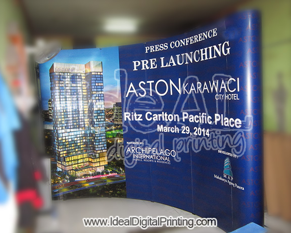 Backwall Opening Aston Hotel Karawaci