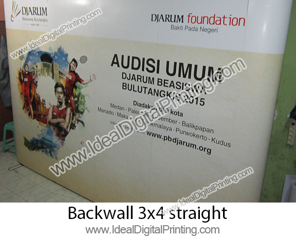 Backdrop / Backwall magnetic modul 3x4