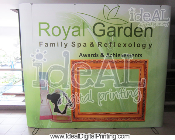 Backwall Royal Spa
