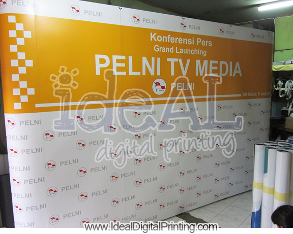 Backwall / Backdrop Portable Pelni