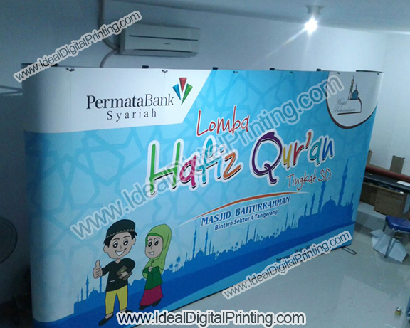 Backdrop Pameran Permata Bank