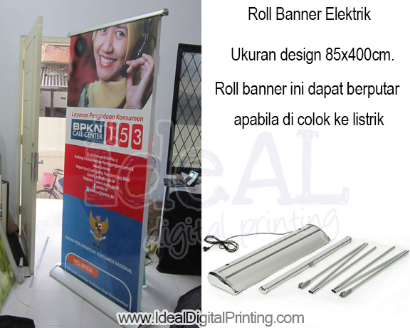 Roll Banner Electric
