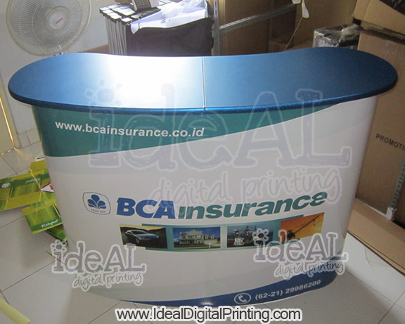Meja Pop up luxury BCA Insurance