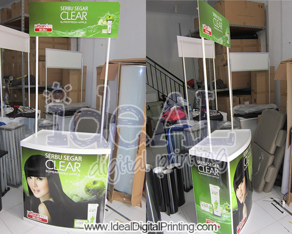 Event Desk/ Meja SPG Clear