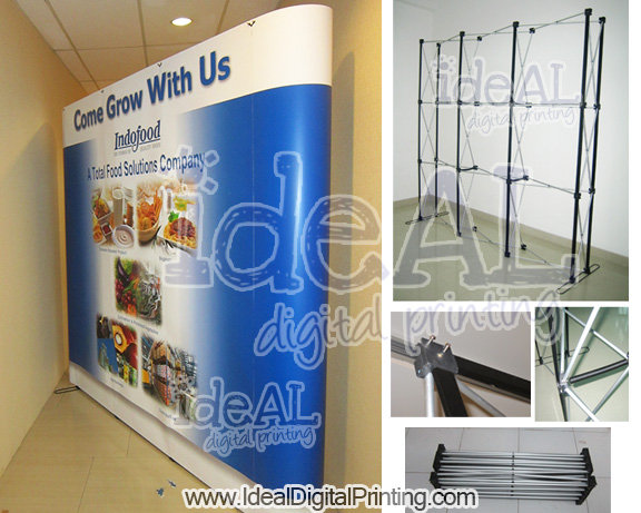 Backwall dan Meja Luxury Indofood