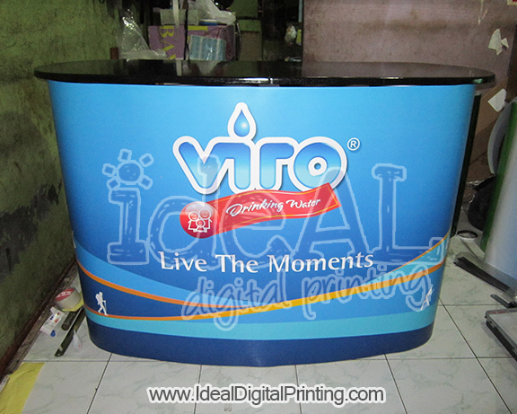 Meja Pop Up Counter Viro